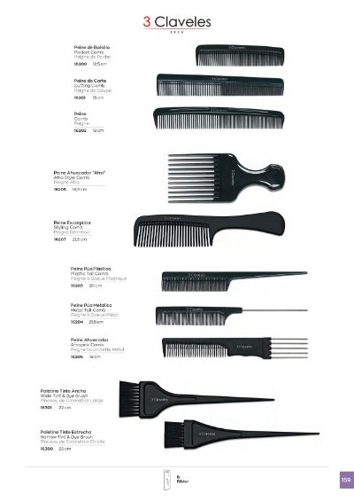 objects personal COMBS