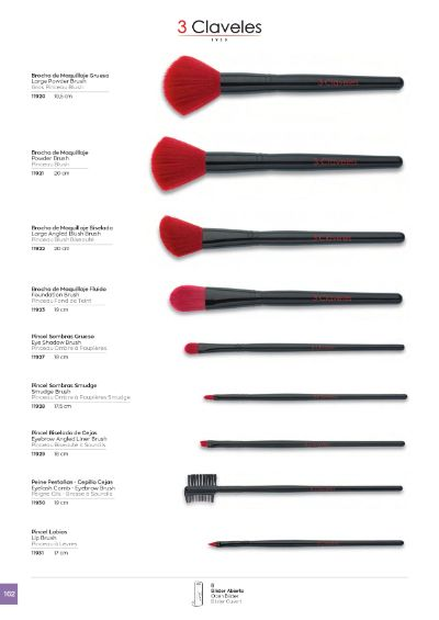 objects personal PROFESSIONAL MAKE-UP BRUSHES