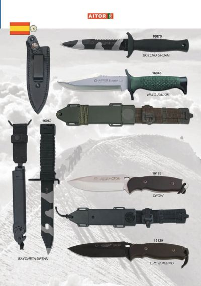 tactical knives AITOR TACTICAL KNIVES