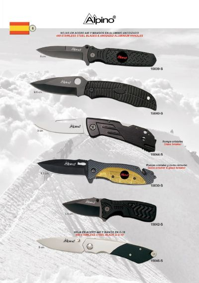 pocketknives military TACTICAL POCKET KNIVES ALPINO 2