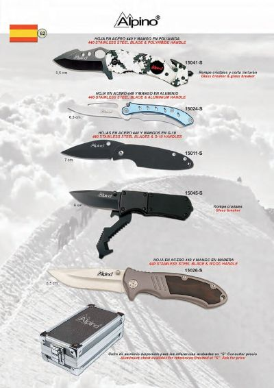 pocketknives military TACTICAL POCKET KNIVES ALPINO 6