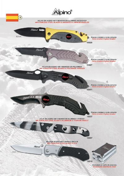 pocketknives military TACTICAL POCKET KNIVES ALPINO