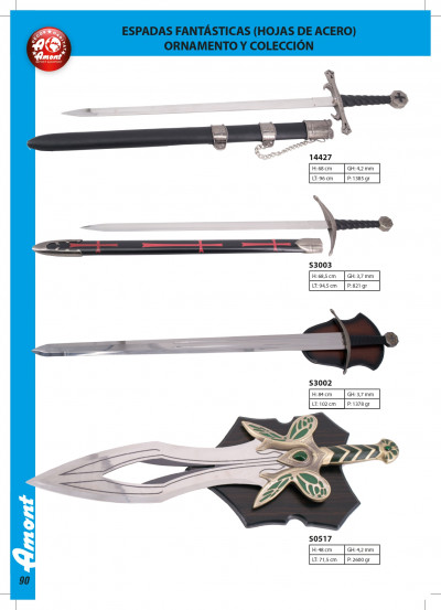 arms antique replicas FANTASY SWORDS