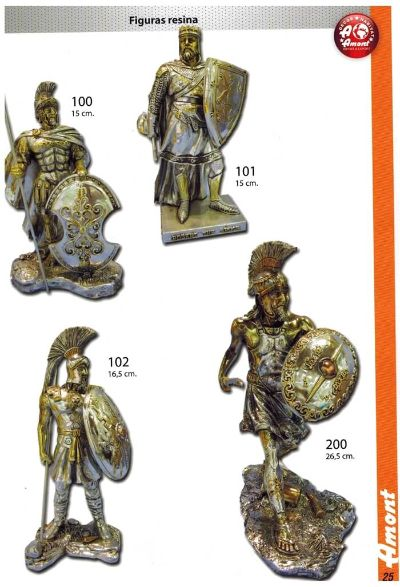 arms antique replicas RESIN FIGURES