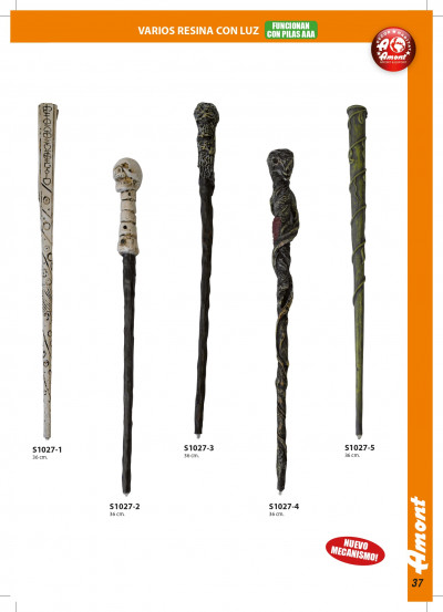 arms antique replicas MAGIC WANDS