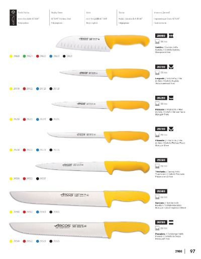 professional knives BUTCHERS KNIVES 2900
