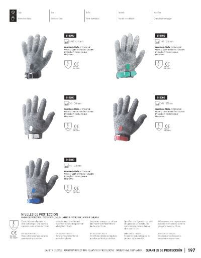professional knives SAFETY GLOVES