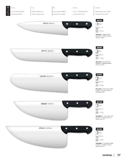 professional knives butcher PROFESSIONAL KNIVES UNIVERSAL