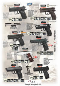 arms AIRSOFT CO2 PISTOLS 2 ASG