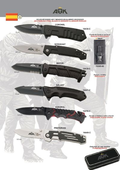 pocketknives military TACTICAL POCKET KNIVES ATK 06