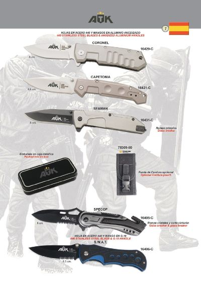 pocketknives military TACTICAL POCKET KNIVES ATK 08