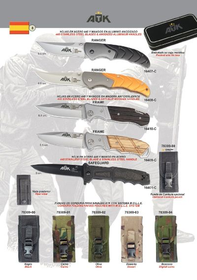 pocketknives military TACTICAL POCKET KNIVES ATK 09