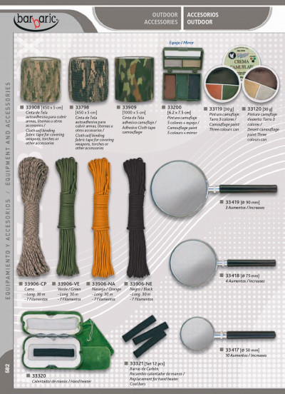 camping and survival OUTDOOR ACCESSORIES