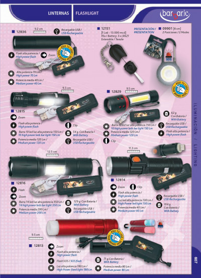 camping and survival BARBARIC FLASHLIGHTS