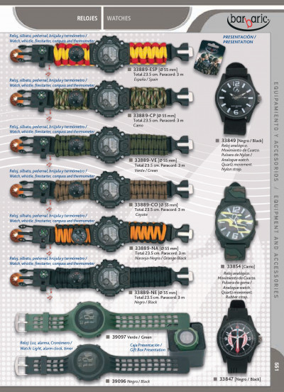 objects personal BARBARIC WATCHES