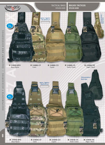 camping and survival BACKPACK BARBARIC
