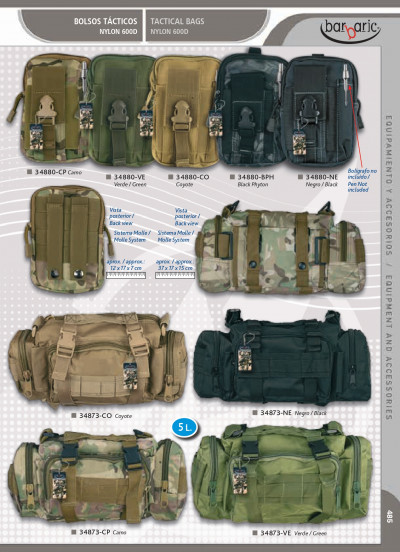 camping and survival BAGS BARBARIC