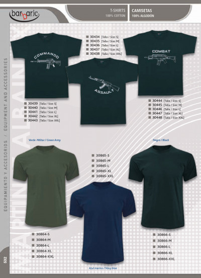 camping and survival T-SHIRTS BARBARIC