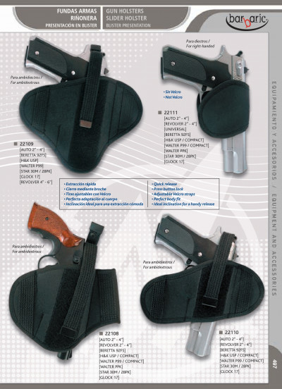 arms GUN HOLSTERS AND SLIDE HOLSTER
