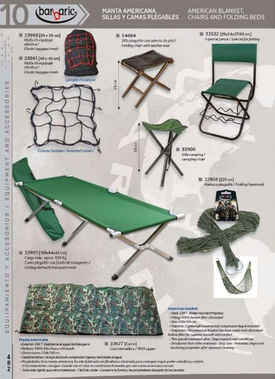camping and survival AMERICAN BLANKET AND CHAIRS