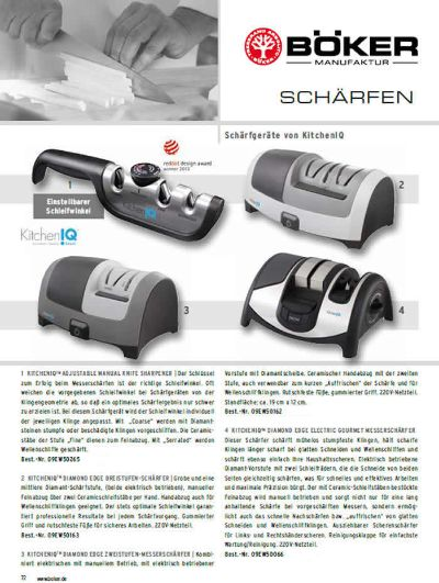 sharpeners sharpeners SHARPENER KITCHENIQ