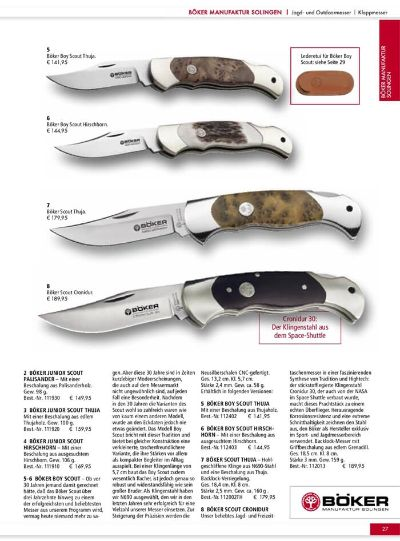 hunting knives mountain knives BOKER DAMASCUS AMICO