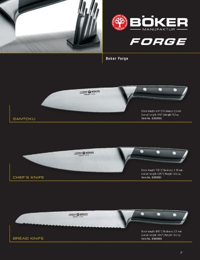 professional knives BOKER FORGE
