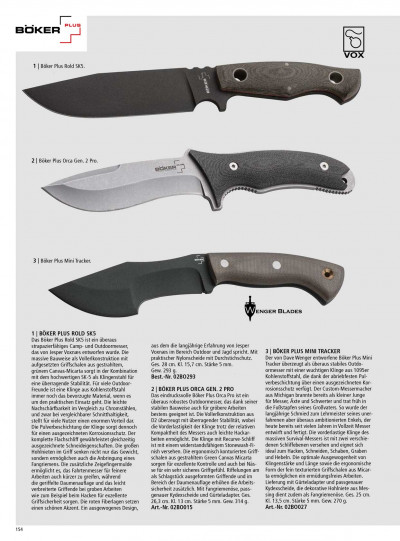 hunting knives mountain knives KNIVES OUTDOOR BOKER PLUS ROLD