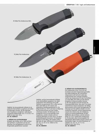 coltelli da caccia COLTELLI OUTDOOR BOKER PLUS