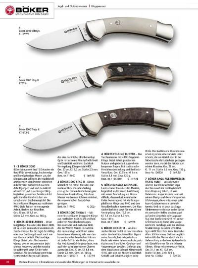 multipurpose penknives HUNTING KNIVES BOKER