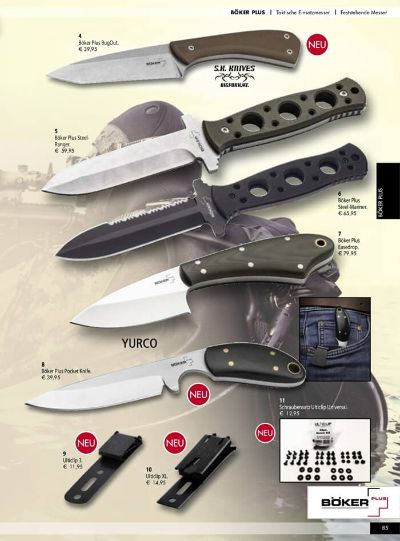 hunting knives BOKER TACTICAL PLUS