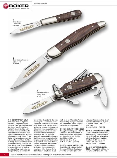 couteaux-navajas chasse TREE BRAND BOKER