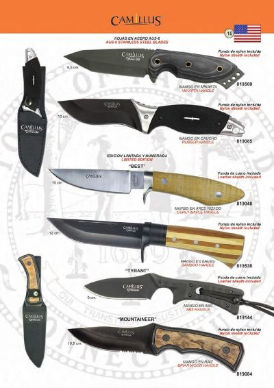 tactical knives TACTICAL KNIVES CAMILLUS