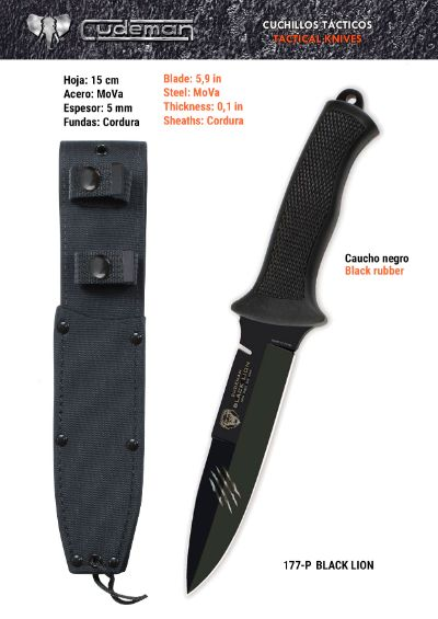 tactical knives BLACK LION