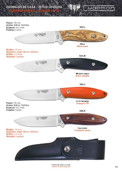 hunting knives CORBETT AND SUTHER HUNTING KNIVES