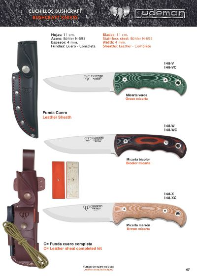 camping and survival SURVIVAL KNIVES BUSHCRAFT