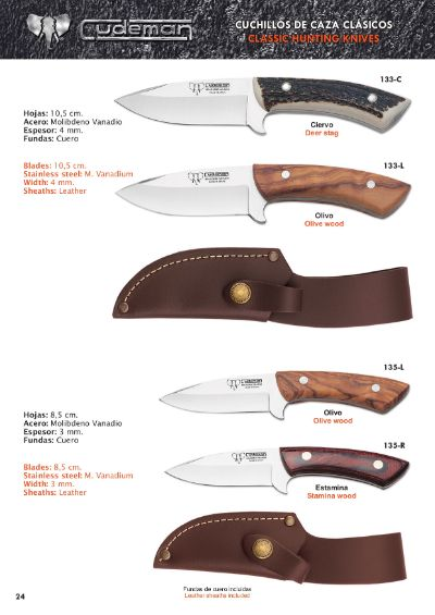hunting knives SKINNERS KNIVES 4