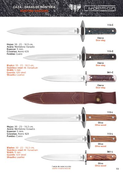 hunting knives DAGGERS MONTAIN 1