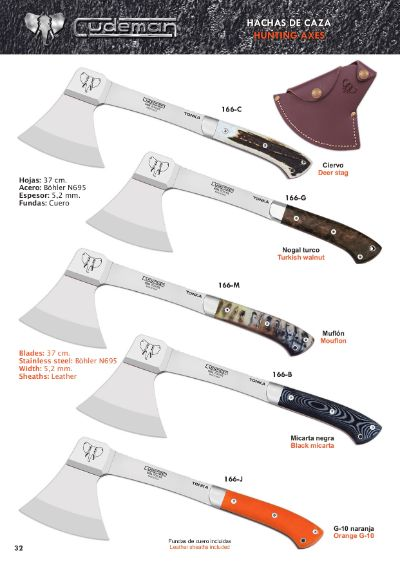 hunting knives axes TONKA HUNTING AND SURVIVAL AXES