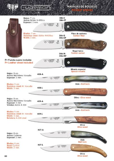 pocketknives stylet CUDEMAN SAILORS AND CLASSICS