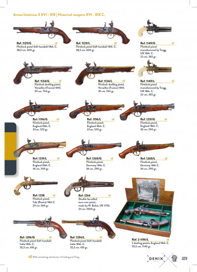 arms antique replicas GUNS 3