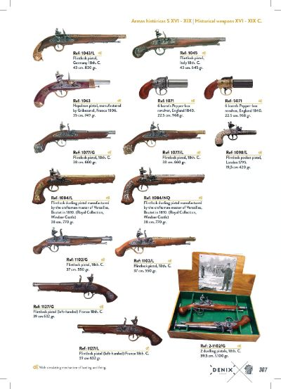 arms antique replicas GUNS