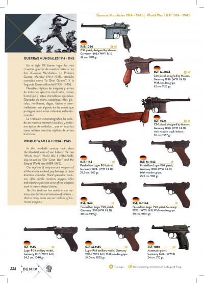arms antique replicas PISTOLS AND SHOTGUNS
