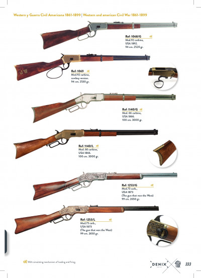 arms antique replicas RIFLES 2