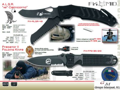 pocketknives military CAPRICORNIO PREDATOR II MILITARY