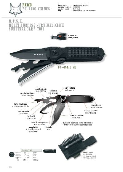 multipurpose penknives MPSK MULTI PURPOSE SURVIVAL KNIFE