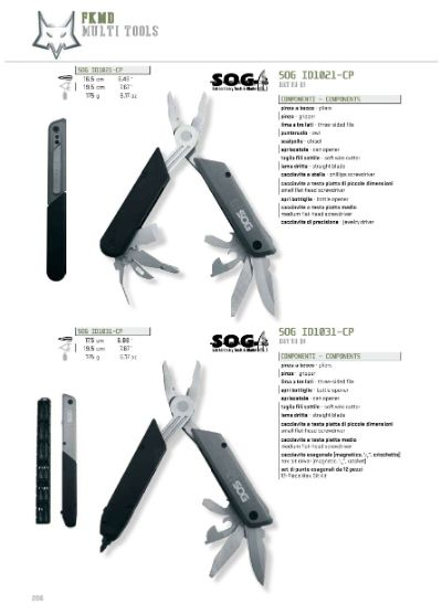 multiusos SOG MULTITOOLS 2