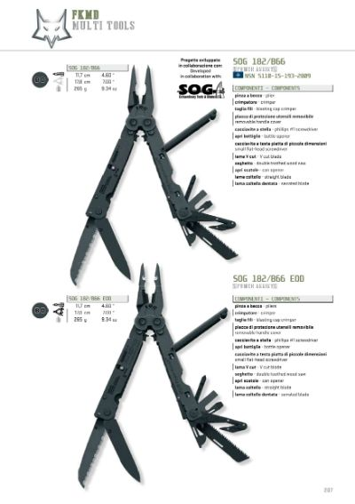 multiusos SOG MULTITOOLS