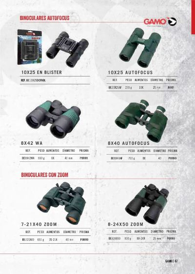 hunting and observation GAMO BINOCULARS