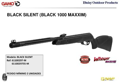 airsoft pistolets co2 BLACK SILENT